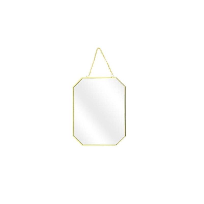 Σετ Μεταλλικοί Καθρέπτες Τοίχου 30 x 0.3 x 40 cm 3 τμχ Home Deco Factory HD4341 - HD4341