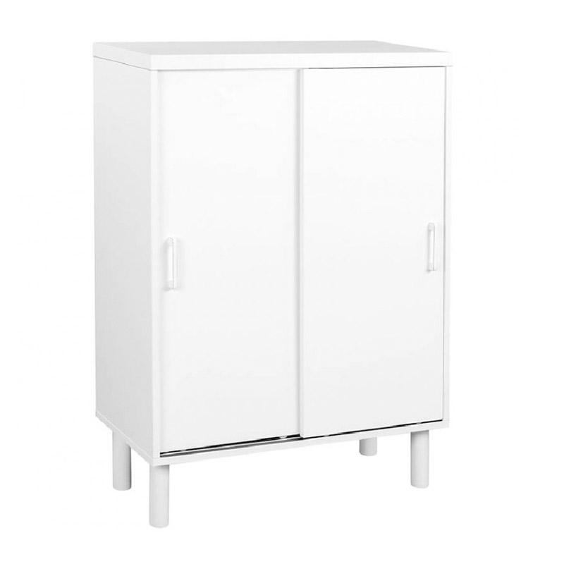 Ξύλινη Παπουτσοθήκη 70 x 35 x 100 cm Χρώματος Λευκό VASAGLE LHS052W01 - LHS052W01
