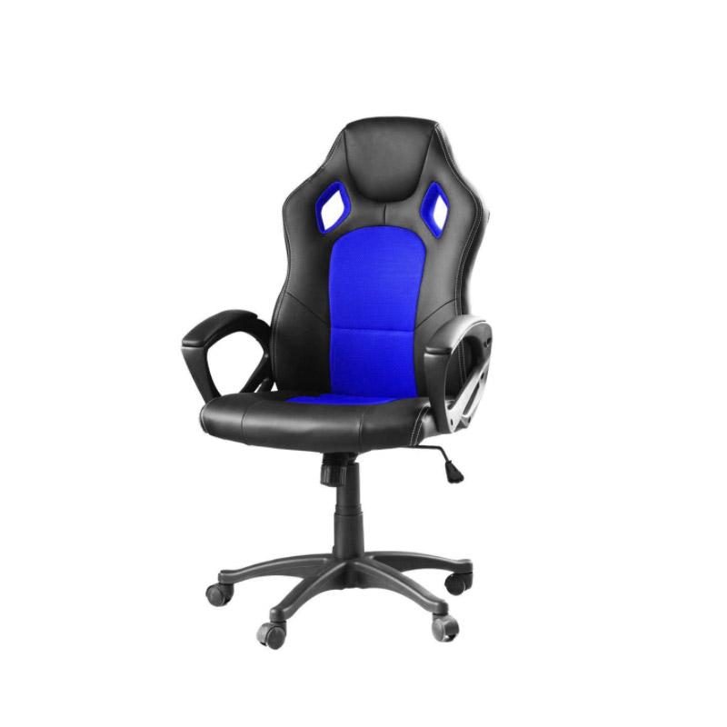 Καρέκλα Gaming Χρώματος Μπλε Hoppline HOP1000870-2 - HOP1000870-2