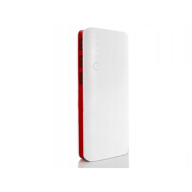 Power Bank 20000 mAh με 3 Θύρες USB Χρώματος Κόκκινο SPM 5901646281622-Red - 5901646281622-Red