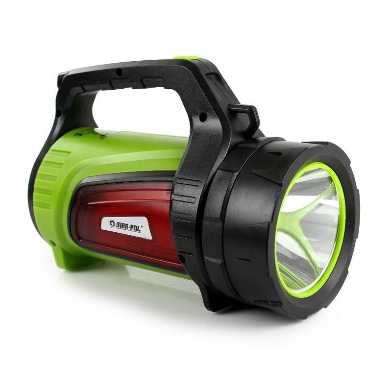 Επαναφορτιζόμενος LED Φακός με Λειτουργία Power Bank 10 W MAR-POL M82721 - M82721