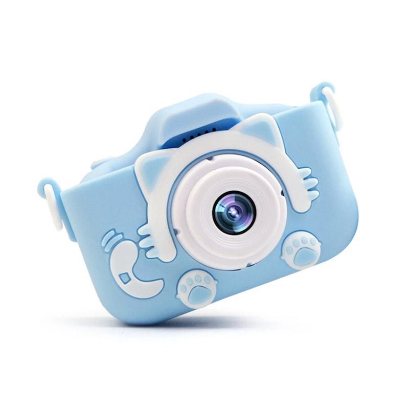 Παιδική Ψηφιακή Φωτογραφική Μηχανή Χρώματος Μπλε SPM 5908222219895-Blue - 5908222219895-Blue