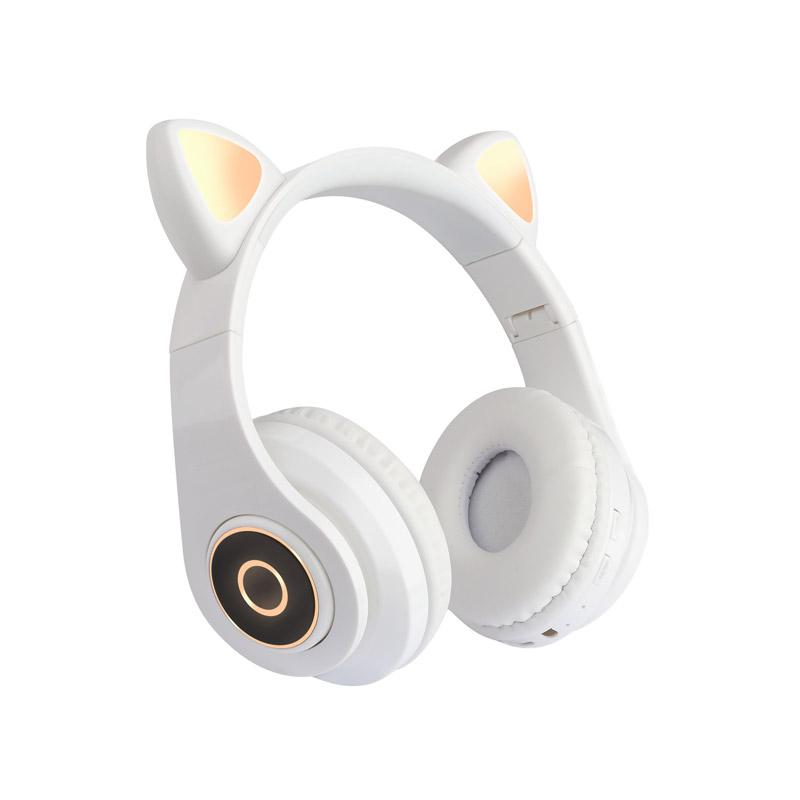 Ασύρματα Ακουστικά Bluetooth Γάτα Χρώματος Λευκό SPM B39-White - B39-White