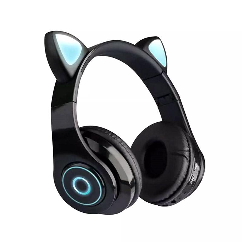 Ασύρματα Ακουστικά Bluetooth Γάτα Χρώματος Μαύρο SPM B39-Black - B39-Black