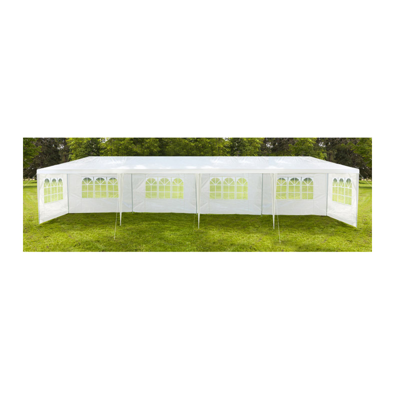 Κιόσκι Κήπου με Μεταλλικό Σκελετό και 6 Τοίχους 3 x 12 x 2.5 m Inkazen 30080000 - 30080000