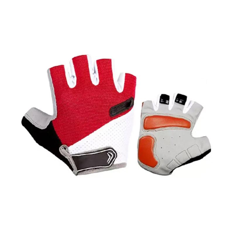 Γάντια Ποδηλάτου Κοντά Χρώματος Κόκκινο SPM DYN-5059059089R - DYN-5059059089R