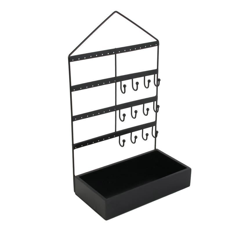 Μεταλλική Κοσμηματοθήκη - Μπιζουτιέρα 20 x 10.7 x 33.3 cm Home Deco Factory HD2308 - HD2308