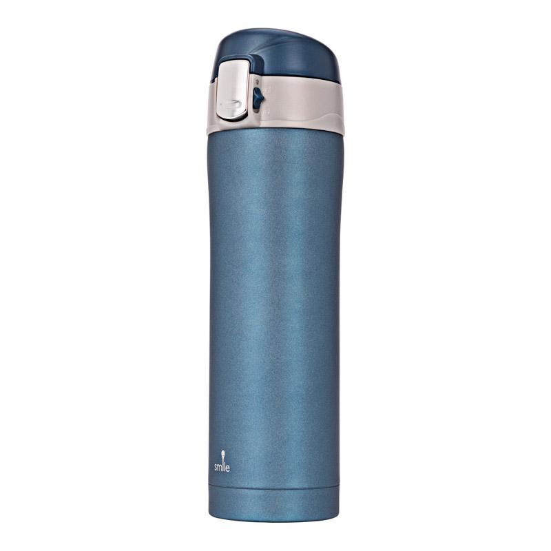 Μπουκάλι Θερμός 420 ml Χρώματος Μπλε Smile STT-5/6 - STT-5/6