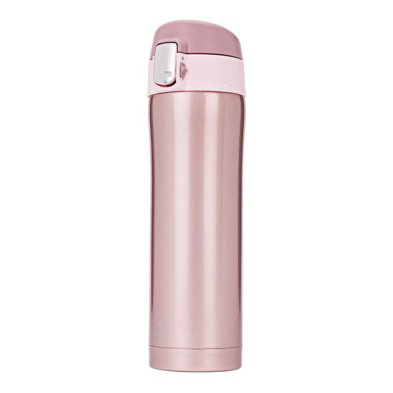 Μπουκάλι Θερμός 420 ml Χρώματος Ροζ Smile STT-5/15 - STT-5/15