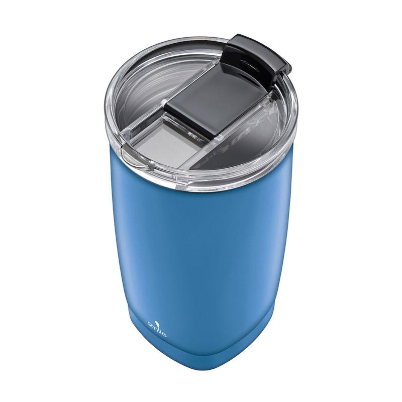 Ποτήρι Θερμός 350 ml Χρώματος Μπλε Smile STT-14/6 - STT-14/6