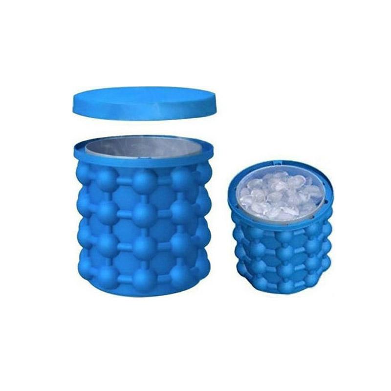 Παγοθήκη-Παγοκύστη-Σαμπανιέρα Σιλικόνης Ice Cube Maker Genie MWS17600 - Media Wave MWS17600