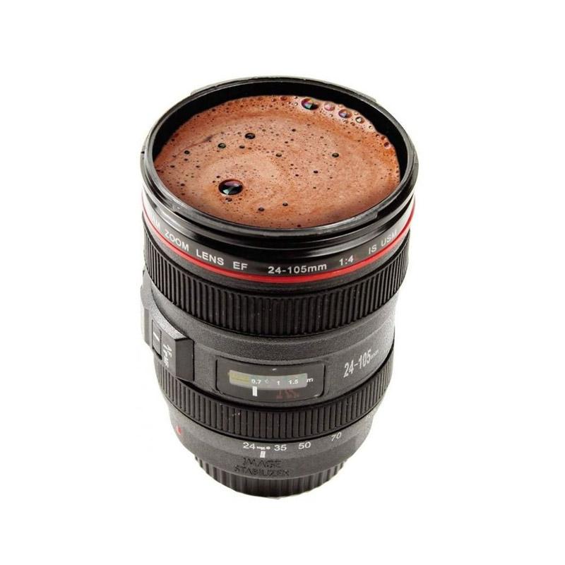 Κούπα σε Σχήμα Φακού Φωτογραφικής Μηχανής με Καπάκι MWS365 - Media Wave MWS365