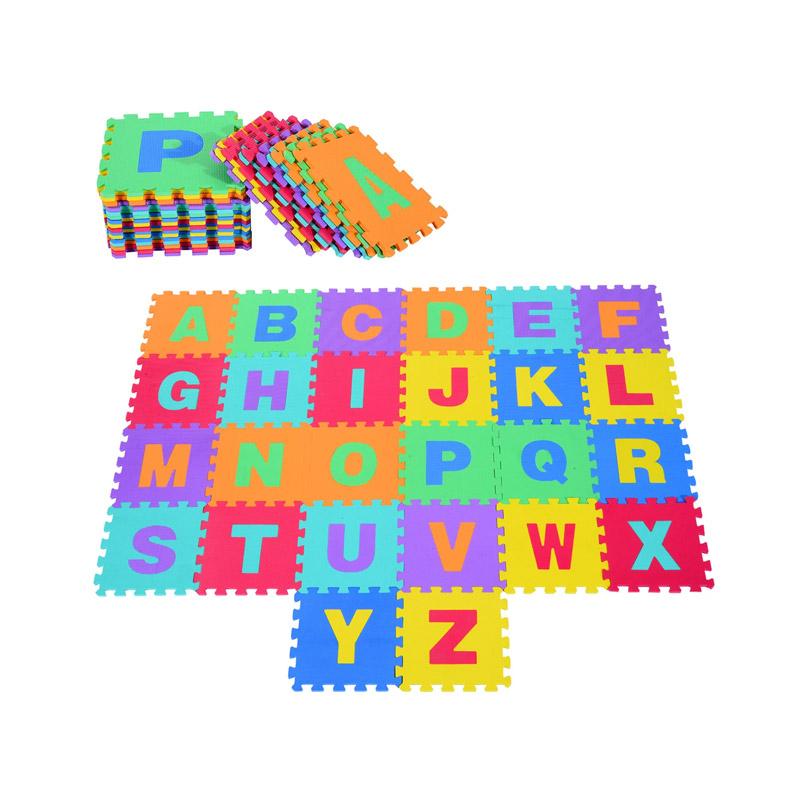 Αφρώδες Παζλ Δαπέδου Αγγλικό Αλφάβητο 26 τμχ HOMCOM 320-002 - 320-002