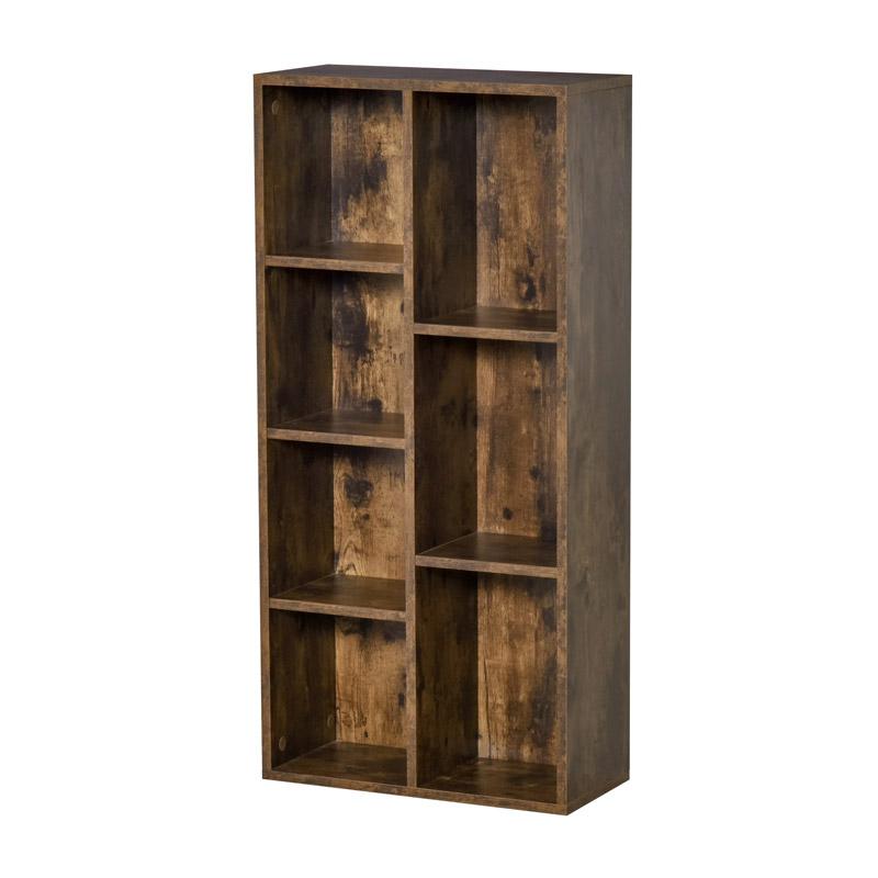 Ξύλινη Βιβλιοθήκη με 7 Ράφια 50 x 24 x 106 cm HOMCOM 836-367 - 836-367