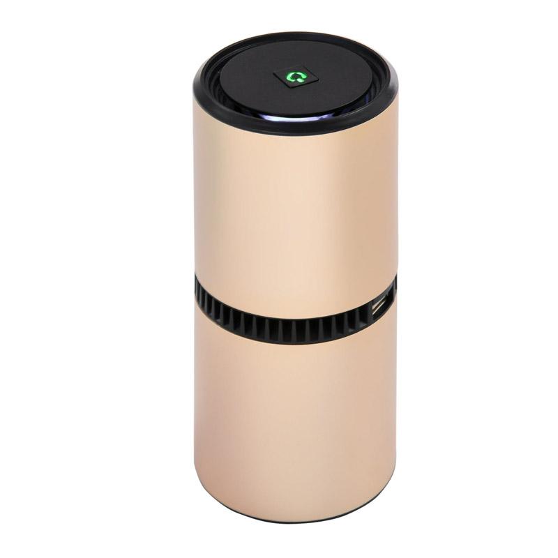 Ιονιστής - Καθαριστής Αέρα με 2 Θύρες USB Χρώματος Χρυσό HOMCOM 823-011 - 823-011