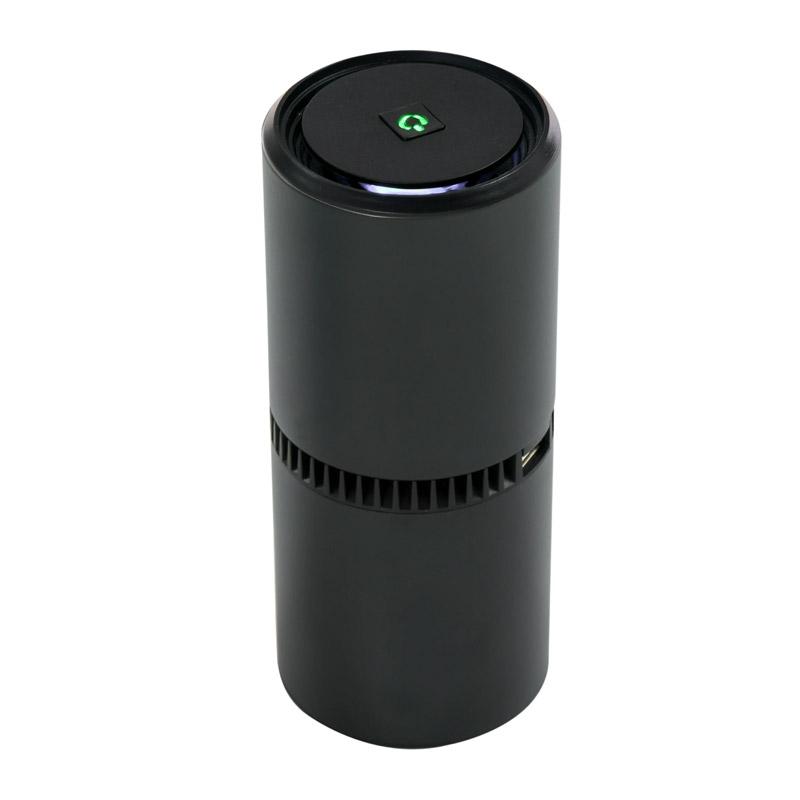 Ιονιστής - Καθαριστής Αέρα με 2 Θύρες USB Χρώματος Μαύρο HOMCOM 823-011BK - 823-011BK
