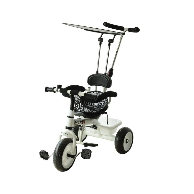 Τρίκυκλο Παιδικό Ποδήλατο - Καρότσι HOMCOM 370-025 - 370-025