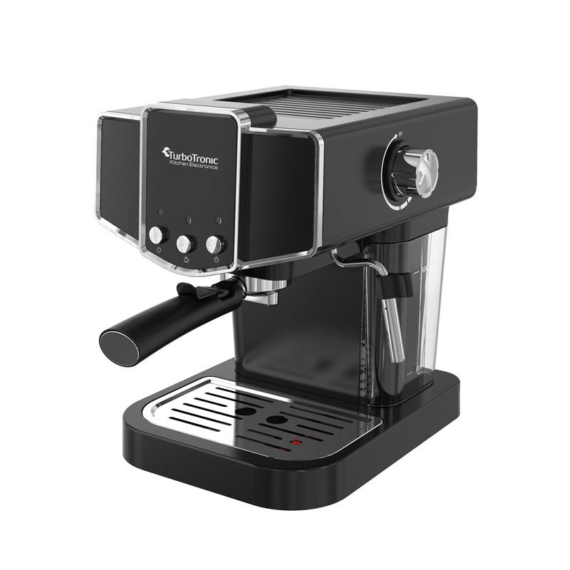 Καφετιέρα Espresso 19 Bar ZEspresso Χρώματος Μαύρο TurboTronic TT-CM23 Black - Turbotronic TT-CM23 Black