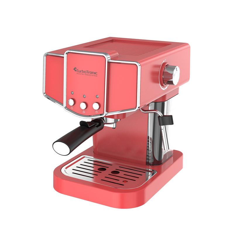 Καφετιέρα Espresso 19 Bar ZEspresso Χρώματος Κόκκινο TurboTronic TT-CM23 Red - Turbotronic TT-CM23 Red