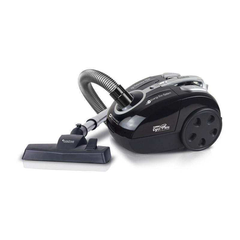 Ηλεκτρική Σκούπα με Κυκλωνική Τεχνολογία 700 W Turbotronic TT-CV09 Black - TT-CV09 Black