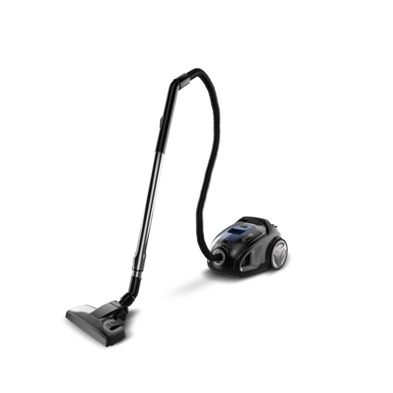 Ηλεκτρική Σκούπα Χωρίς Σακούλα με Τεχνολογία Cyclone 900 W Χρώματος Μαύρο Turbotronic TT-CV10 Black - TT-CV10 Black