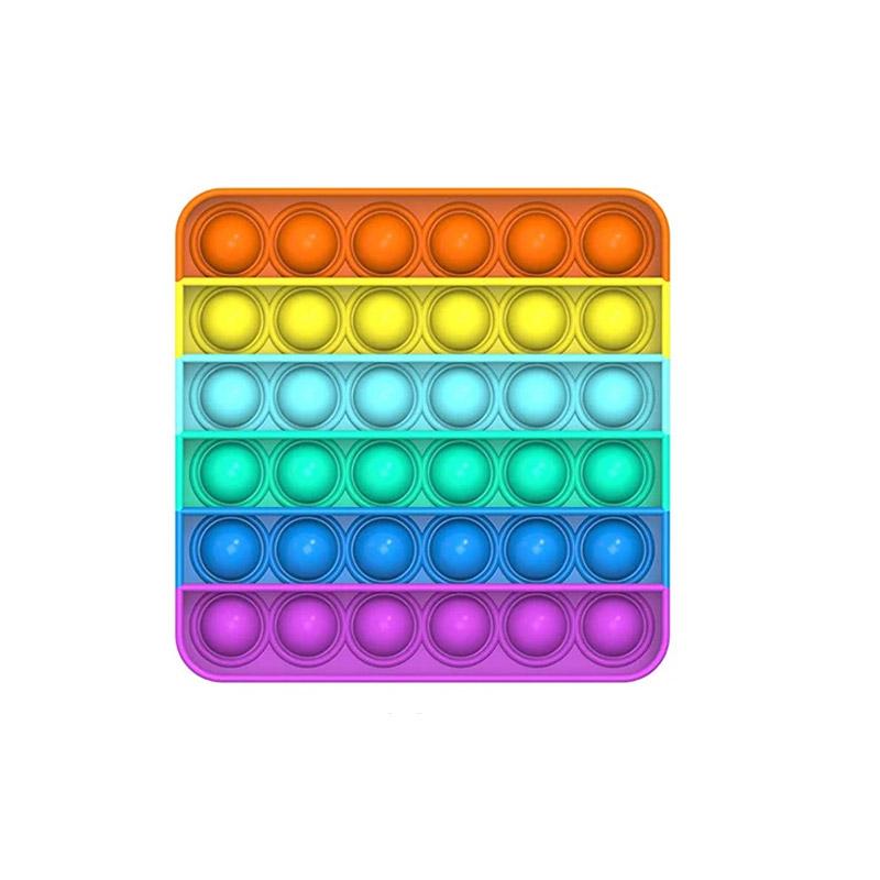 Push Pop It Fidget Τετράγωνο 14 x 14 x 2 cm Πολύχρωμο SPM DYN-5059059083866 - DYN-5059059083866