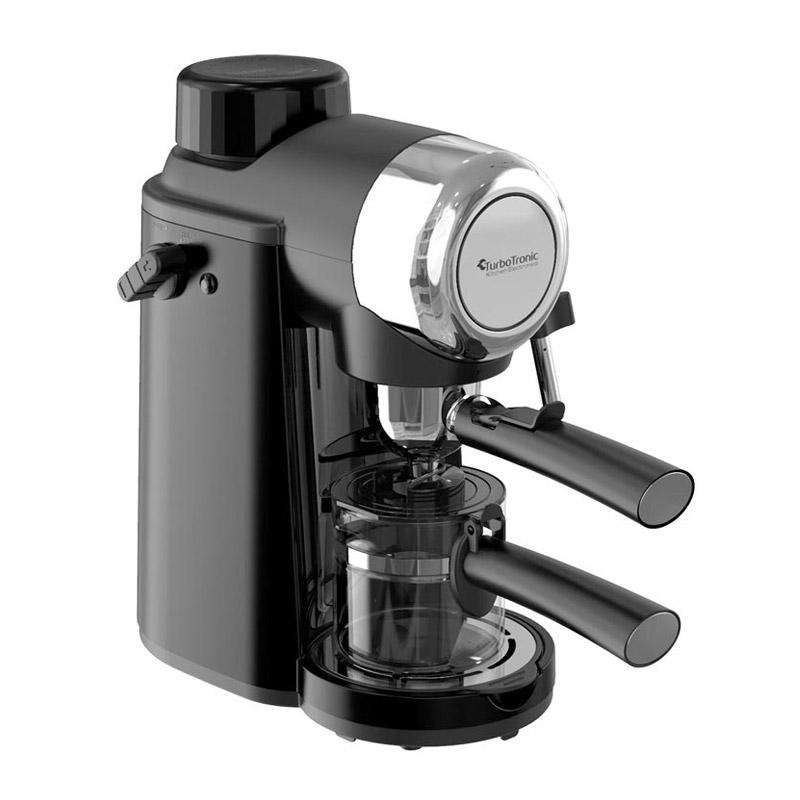 Καφετιέρα Espresso 3.5 Bar Χρώματος Μαύρο ZEspresso Turbotronic TT-CM24 Black - TT-CM24 Black