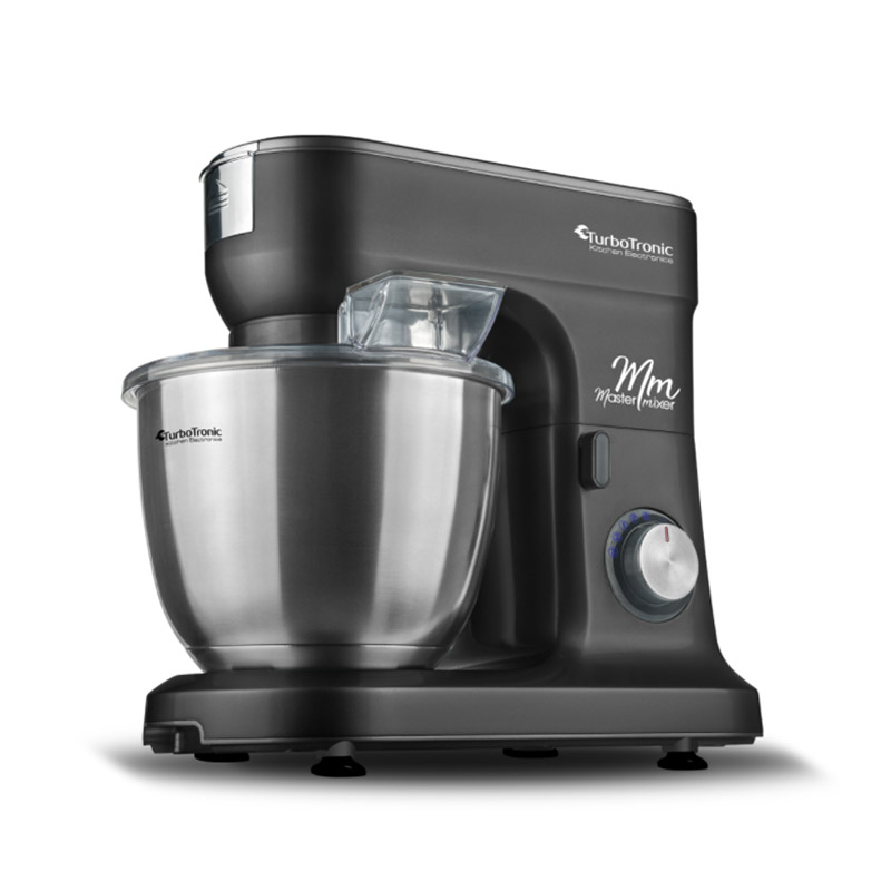 Κουζινομηχανή 1500 W Χρώματος Μαύρο Turbotronic TT-015 Black - TT-015 Black