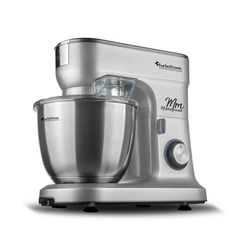 Κουζινομηχανή 1500 W Χρώματος Ασημί Turbotronic TT-015 Silver - TT-015 Silver