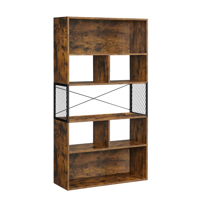 Ξύλινη Βιβλιοθήκη με 7 Ράφια 80 x 30 x 150.5 cm VASAGLE LLS202B01 - LLS202B01