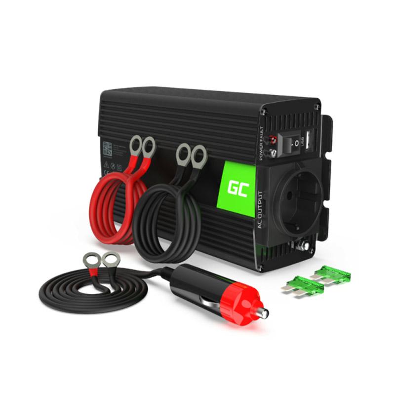 Μετατροπέας - Inverter Ισχύος Αυτοκινήτου 24 V σε 230 V 300 / 600 W Pro Green Cell INVGC02 - INVGC02