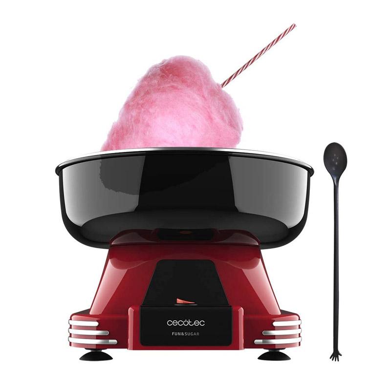 Συσκευή για Μαλλί της Γριάς με 10 Sticks και Κουτάλι 500 W Cecotec Fun&Sugar CEC-04257 - CEC-04257