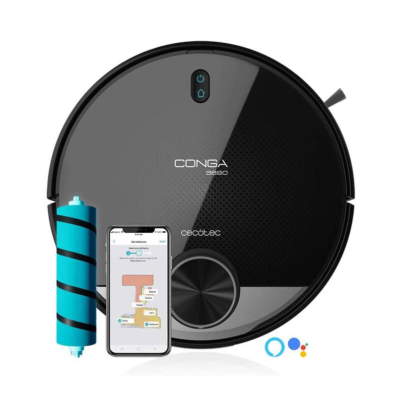 Σκούπα Ρομπότ 4 σε 1 Cecotec Conga 3890 Vital CEC-05550 - CEC-05550