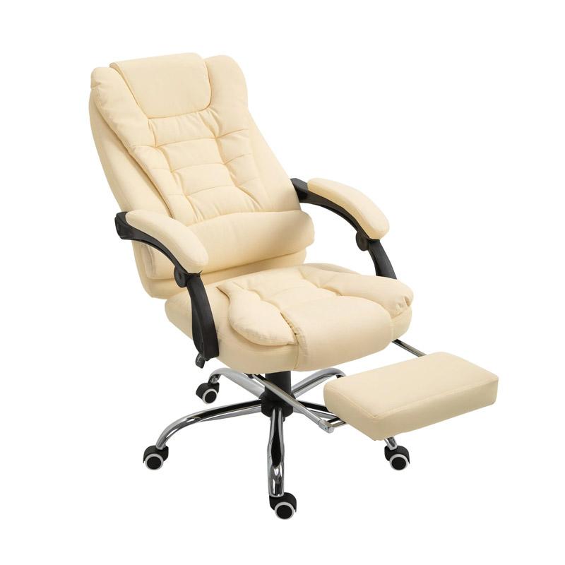 Καρέκλα Γραφείου με Υποπόδιο 64.5 x 69 x 117-127 cm HOMCOM 921-082CW - 921-082CW