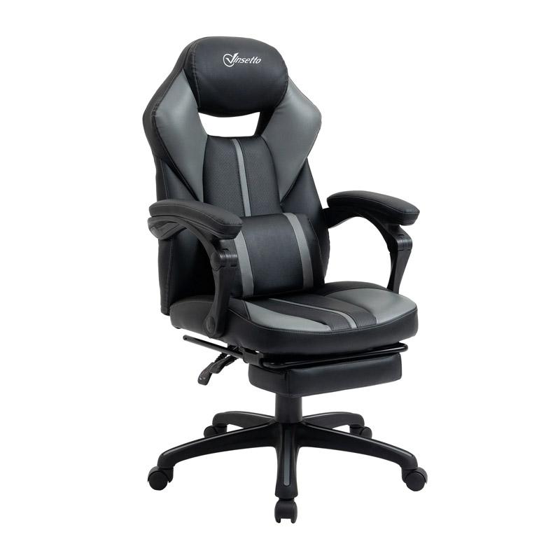 Καρέκλα Gaming με Υποπόδιο 64 x 62 x 114-124 cm Vinsetto 921-468 - 921-468