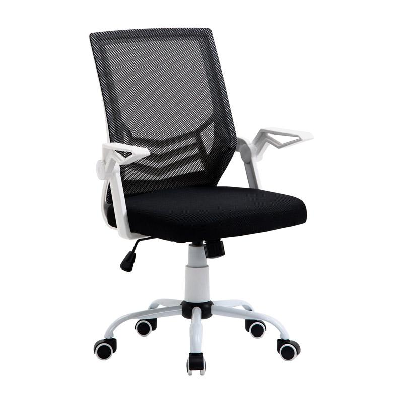 Καρέκλα Γραφείου 62.5 x 55 x 94 -104 cm Χρώματος Μαύρο Vinsetto 921-547BK - 921-547BK