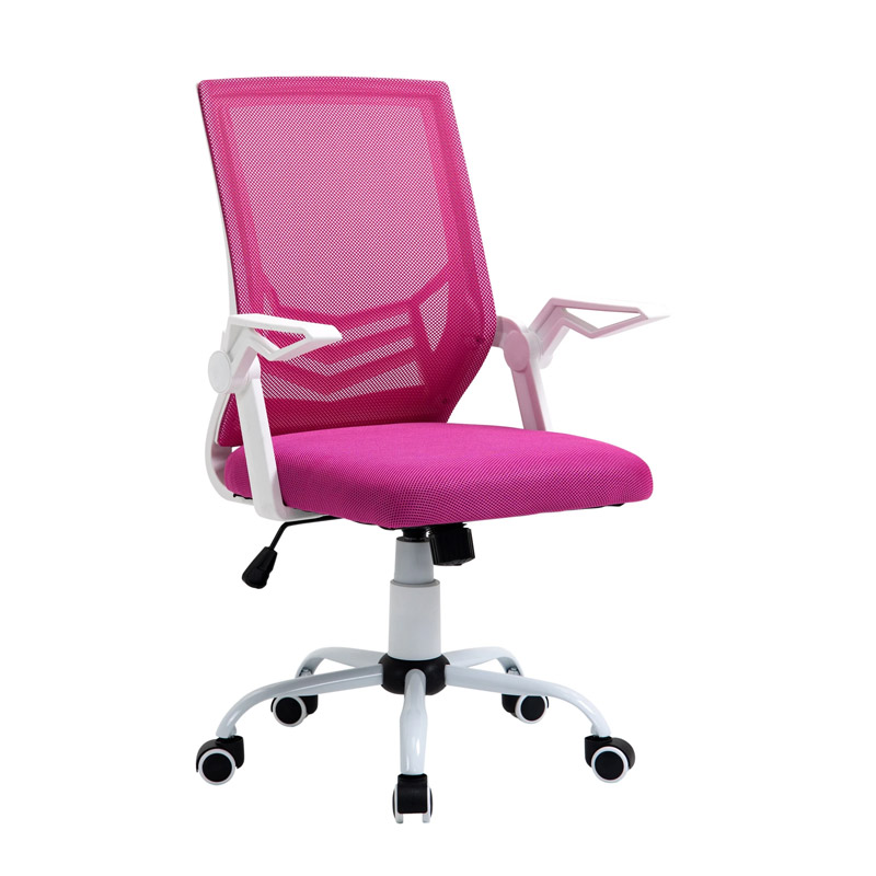 Καρέκλα Γραφείου 62.5 x 55 x 94 -104 cm Χρώματος Ροζ Vinsetto 921-547PK - 921-547PK