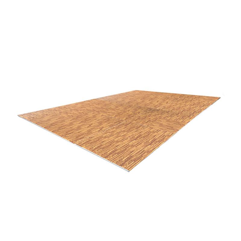 Αφρώδες Χαλί - Πάζλ Δαπέδου 61.5 x 61.5 cm 42 τμχ HOMCOM A93-026BN - A93-026BN