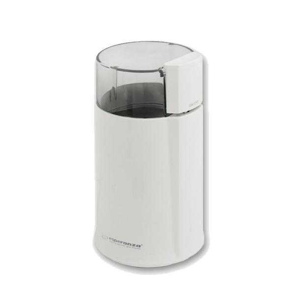 Ηλεκτρικός Μύλος Άλεσης Καφέ και Μπαχαρικών Χρώματος Λευκό Esperanza EKC-001 - EKC-001 White