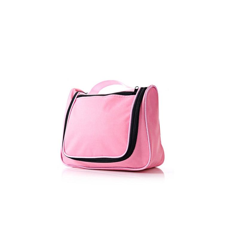 Αδιάβροχο Νεσεσέρ Καλλυντικών Χρώματος Ροζ SPM Toil-Light PNK - General Toil-Light PNK