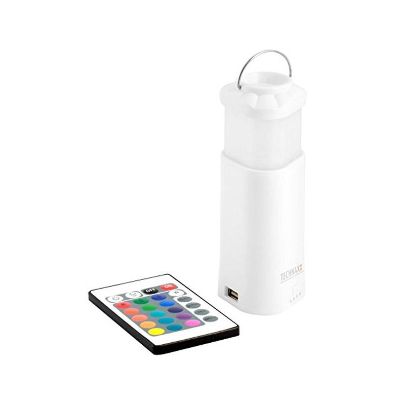 Power Bank - Φανάρι Technaxx με Εφέ Φωτισμού Χρώματος Λευκό TX-31-white - TX-31-white