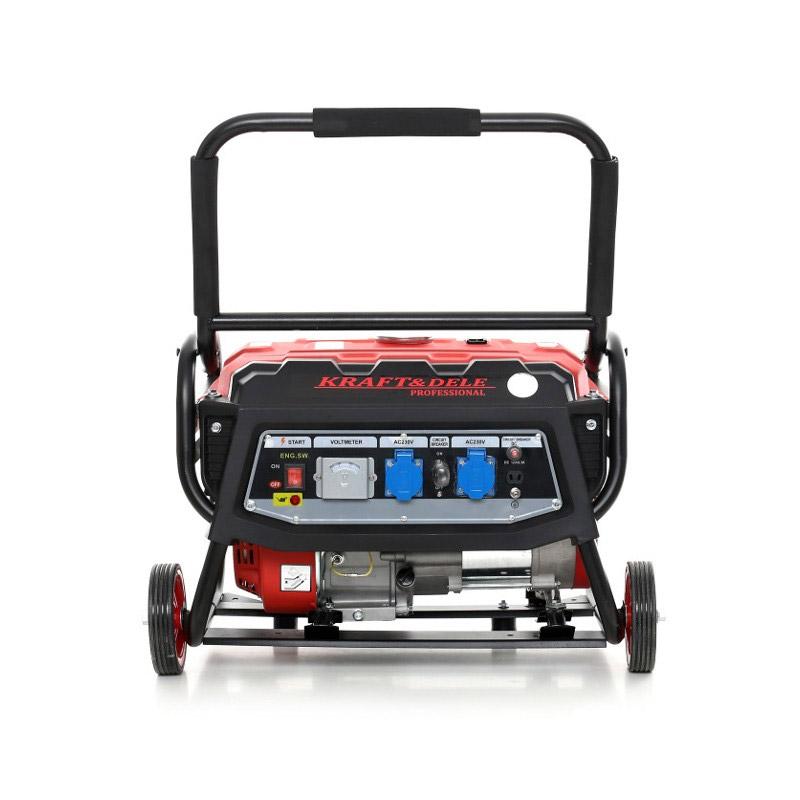 Φορητή Μονοφασική Ηλεκτρογεννήτρια Βενζίνης 3000 W 12/230V Kraft&Dele KD-138 - KD-138