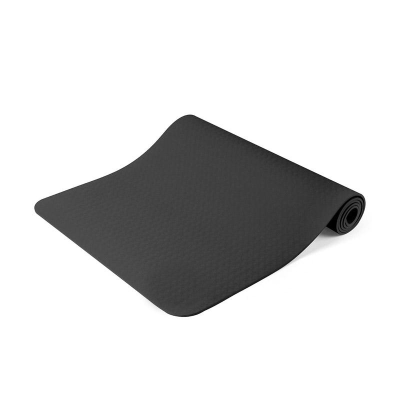 Στρώμα Γιόγκα με Θήκη Μεταφοράς Χρώματος Μαύρο Hoppline HOP1000972-1 - HOP1000972-1