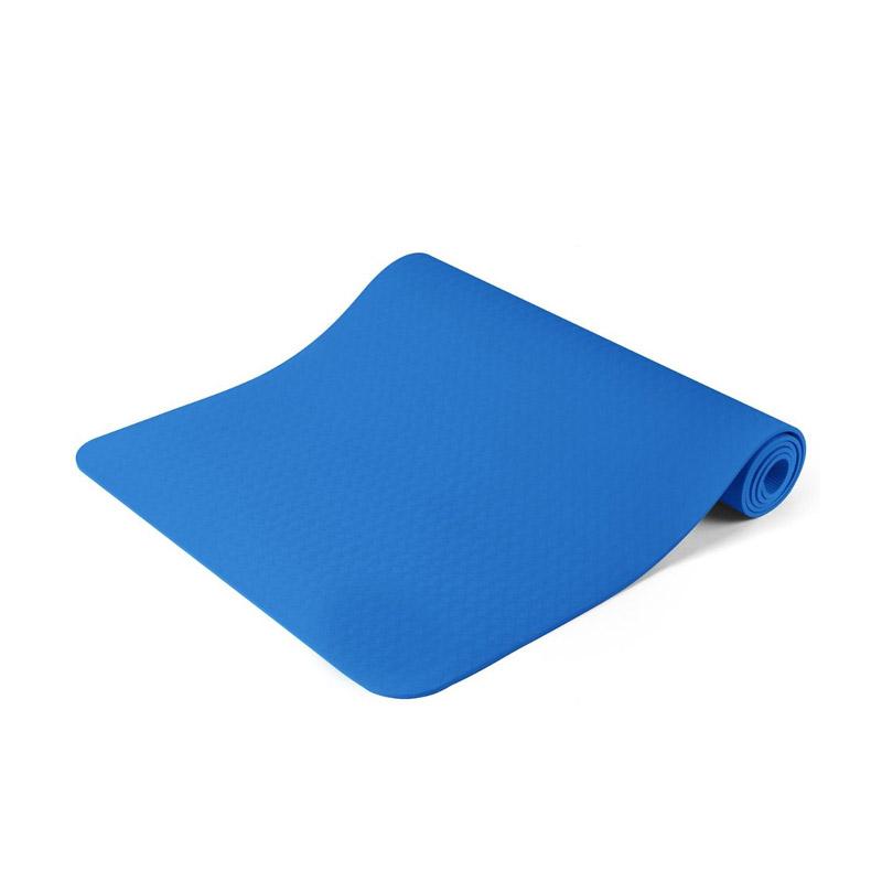 Στρώμα Γιόγκα με Θήκη Μεταφοράς Χρώματος Μπλε Hoppline HOP1000972-2 - HOP1000972-2