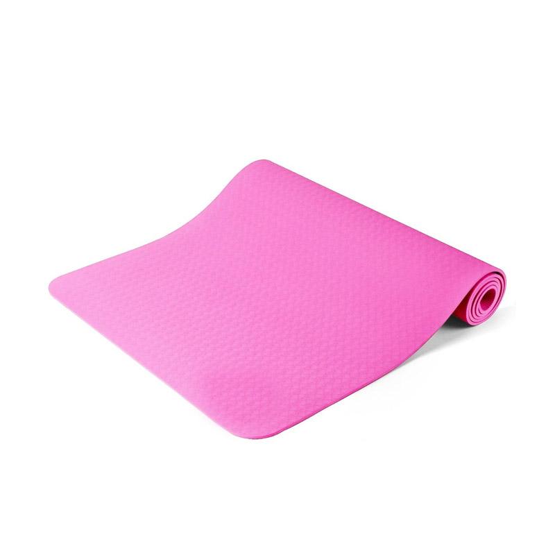 Στρώμα Γιόγκα με Θήκη Μεταφοράς Χρώματος Ροζ Hoppline HOP1000972-3 - HOP1000972-3