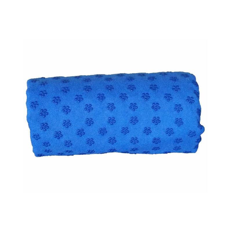 Πετσέτα Γιόγκα με Θήκη Μεταφοράς Χρώματος Μπλε Hoppline HOP1000973-1 - HOP1000973-1