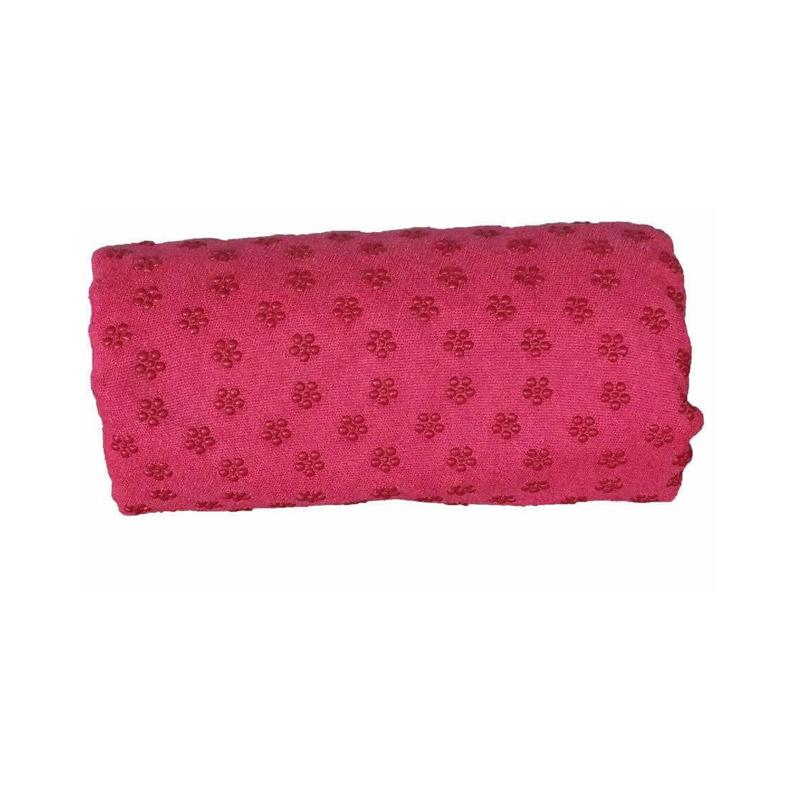 Πετσέτα Γιόγκα με Θήκη Μεταφοράς Χρώματος Ροζ Hoppline HOP1000973-2 - HOP1000973-2