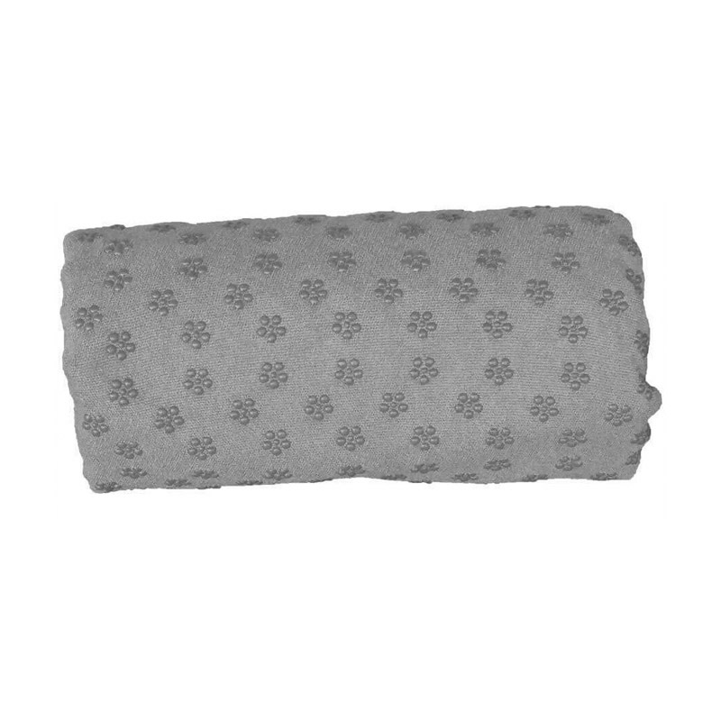 Πετσέτα Γιόγκα με Θήκη Μεταφοράς Χρώματος Γκρι Hoppline HOP1000973-3 - HOP1000973-3