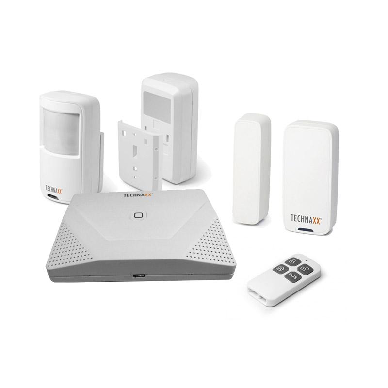 Σύστημα Συναγερμού WiFi με Ανιχνευτή Κίνησης και Χειριστήριο για Εσωτερικούς Χώρους Technaxx TX-84 - TX-84
