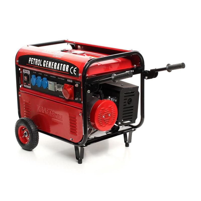 Φορητή Τριφασική Ηλεκτρογεννήτρια Βενζίνης 5000 W 12/230/380 V Kraft&Dele KD-107 - KD-107